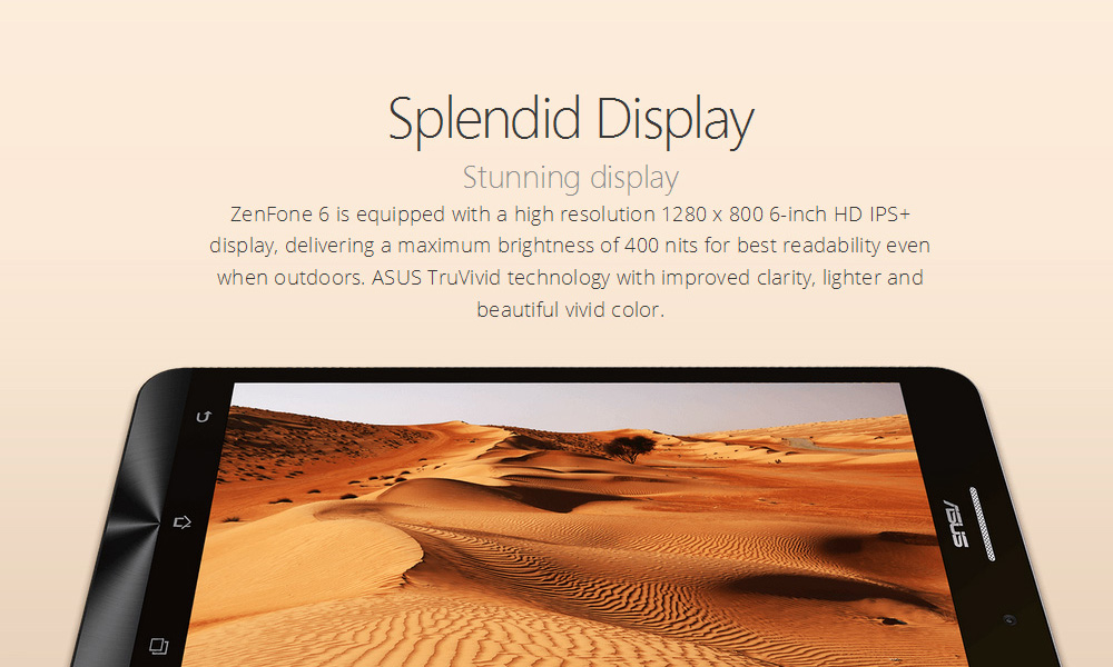 ZenFone 6 (A600CG) -ZenFone 6 has combined the best of the smartphone experience with powerful performance that will improve every aspect of your life.  Simple, Peaceful , Beautiful, this is what ZenFone 6 designed to be. (Unlocked)