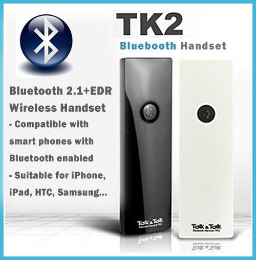 TK2 Bluetooth 2.1 + EDR Wireless   Handset