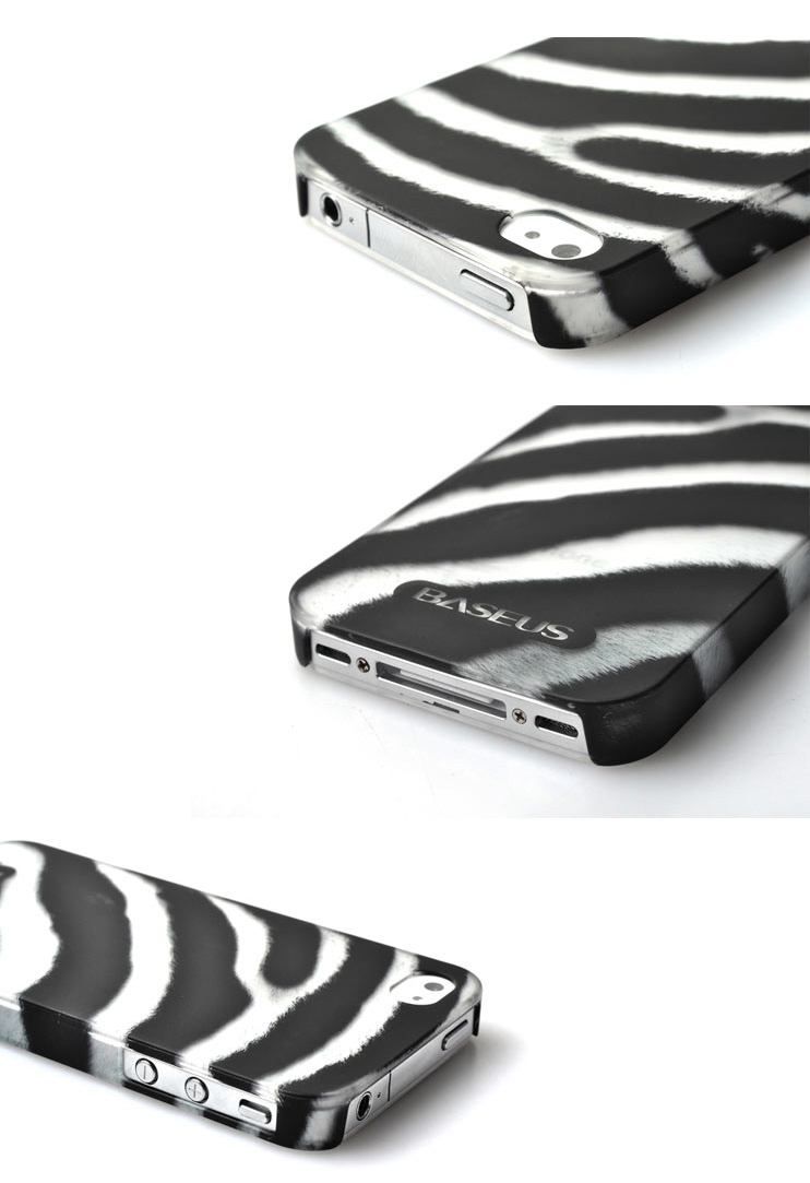 iPhone 4 4S Phone Case Skin - Bestus Knight Series - Eco Friendly Byer None Toxic PC- Feather Design