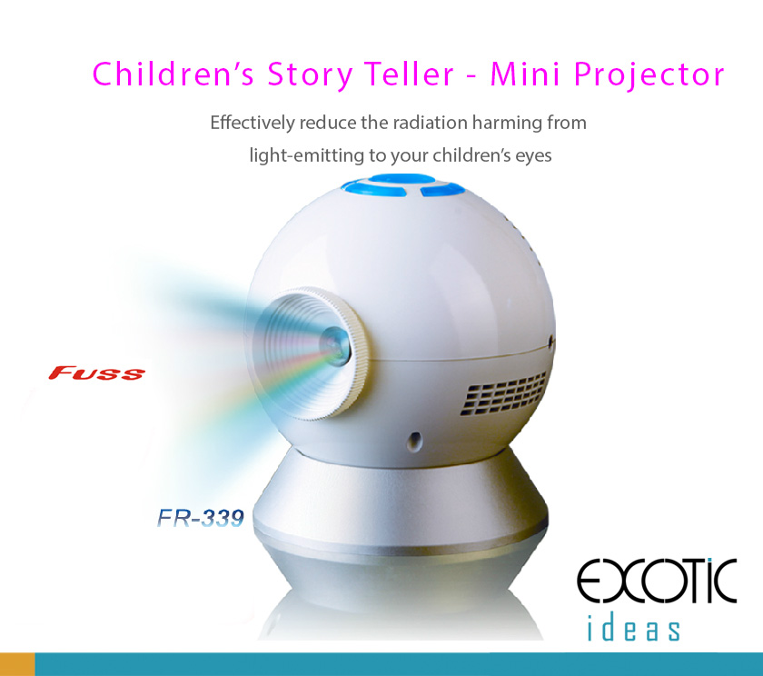 Children Story Teller Projectors - Effectively reduce the light-emitting radiation  harming to your children's eyes