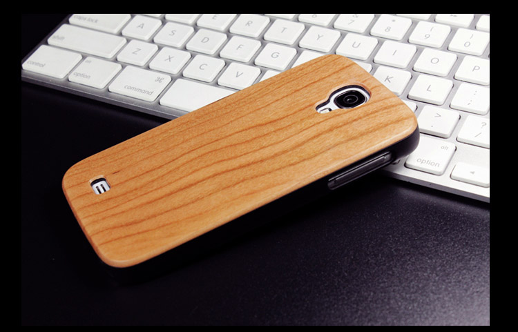 Goodlen Wooden Case Skin for Samsung Galaxy S4 i9500  - Handmade Wooden Cases, Walnut, Rosewood, Cherry