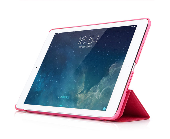 mooke Protectie Covers for iPad Air - Abstract  Glittering Series - Ultra Thin -  Auto Sleep / Wake Feature