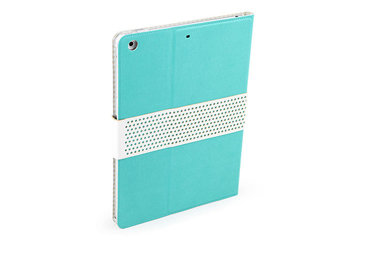ROCK Top Selected Leather Covers / Cases / Sleeve Bags for iPad Air - Auto Sleep / Wake Feature