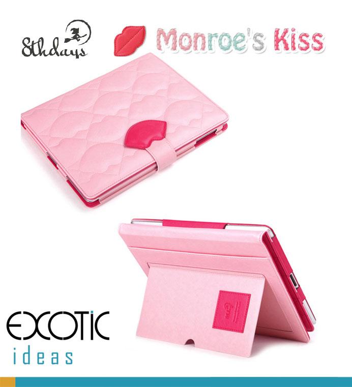 8thDays Monroe's Kisses Series- Covers for iPad 2, iPad 3, iPad 4