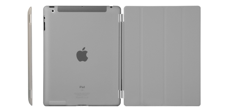 Smart Covers for iPad 2, 3 & 4. High quality environment friendly  PU Cover + PC  back-shell. with Auto-sleep feature