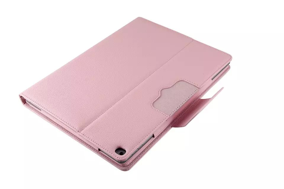 Fine Leather Smart Cover with Removable/Detachable Bluetooth 4.0 Keyboard for iPad Pro 12.9""