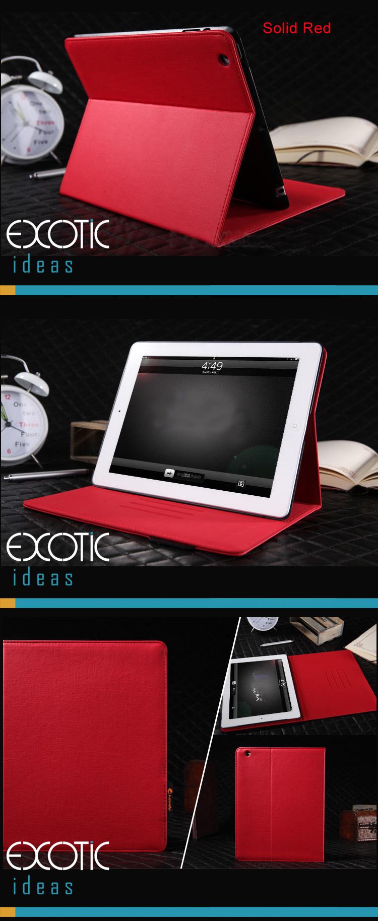 iSmile iPad 2 / The new iPad (iPad 3)  Sleeve Bags Cases - Lattice Pattern Trendy and Fashionable Design, Microfiber Inner Layer, Auto sleep/Awake