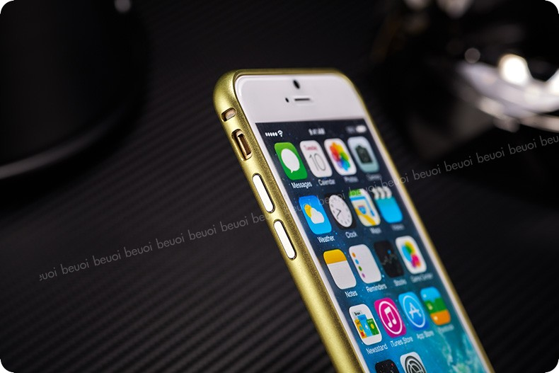 iPhone 6 protective aluminum alloy frame - multiple color choices