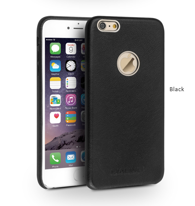 Genuine Top Selected Calfskin Leather Protective Cases, Back Shell for iPhone 6/6 Plus iPhone 6S/6S Plus