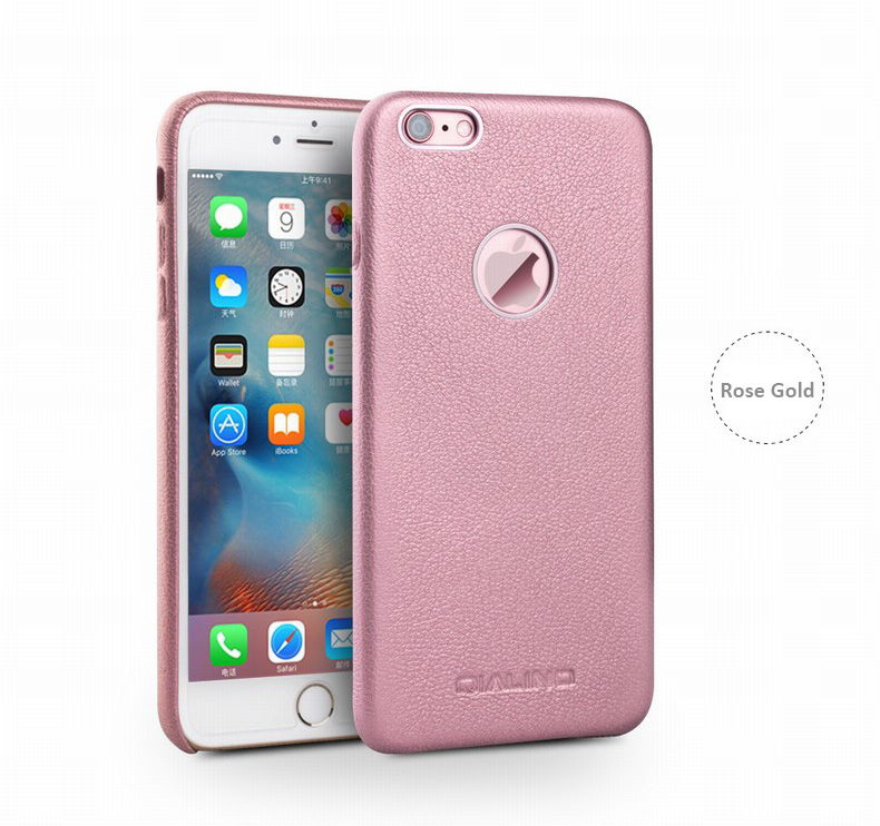 Imported Genuine Calfskin Leather Protective Case Skin For IPhone 6 6S
