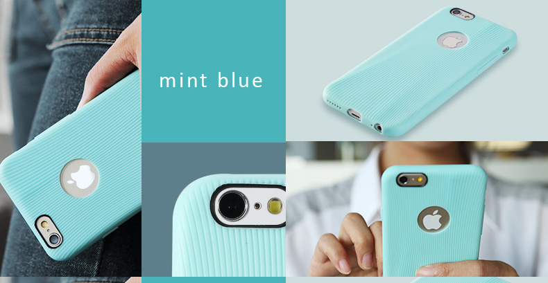 "Rock Melody Series for iPhone 6 - 4.7"" Protective Case - Eco friendly TPU , Anti-Shock, Anti-Droping Impact, Anti-Scratches"