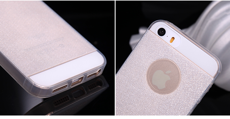 "iPhone 6 4.7"" Protective Case - Glitter Series - High Quality TPU material, Flexible and Durable."