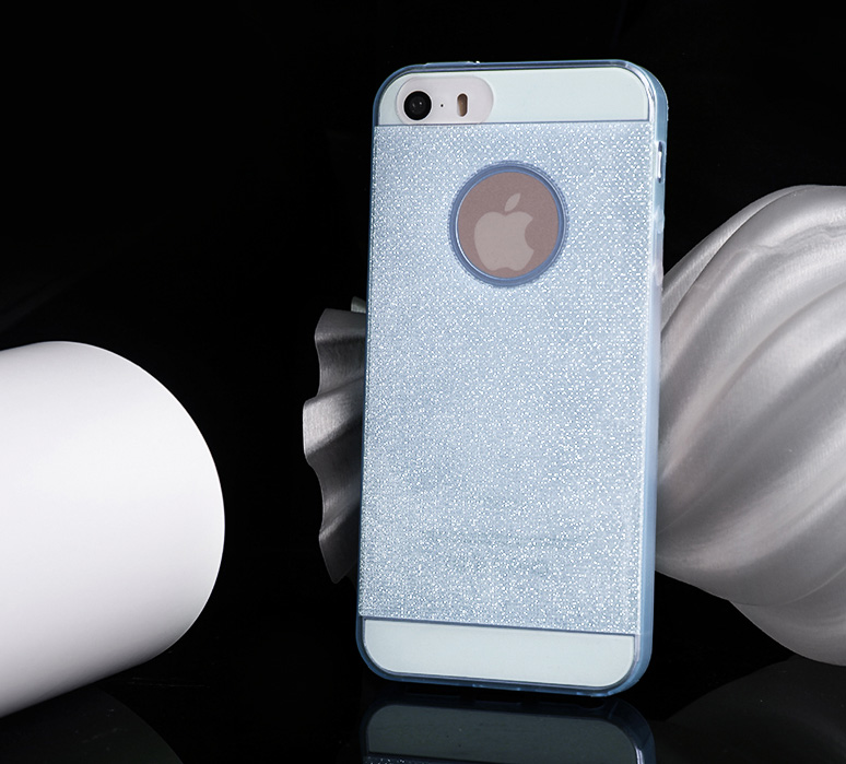 iPhone 5/5S Protective Case - Glitter Series - High Quality TPU material, Flexible and Durable.
