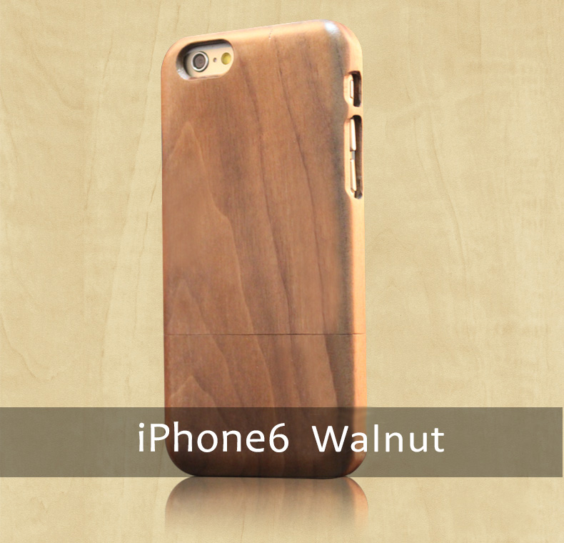 Goodlen Wooden Case Skin  iPhone 6, iPhone 6S and iPhone 6 plus, iPhone 6S Plus - Handmade Wooden iPhone Protective Cases. Walnut, Rosewood, Sandalwood 3 Choices - Natural Beauty Selection