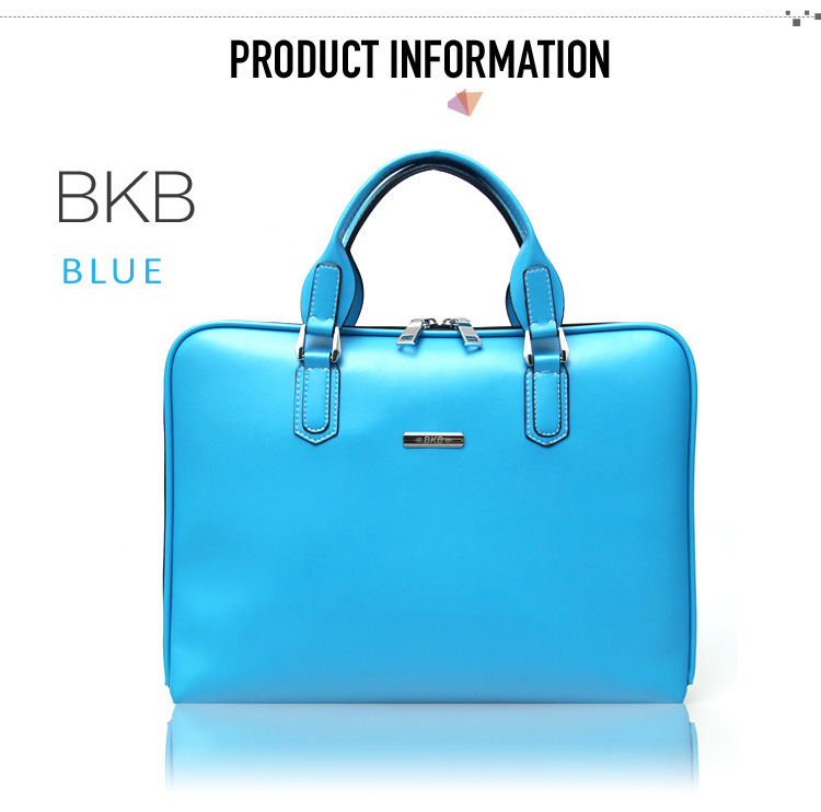 "BKB Microfiber Leather Handbag for MacBook Air & Pro, Pro Retina 11.6"", 13.3 and 15.4"". Waterproof, Anti-scratches"