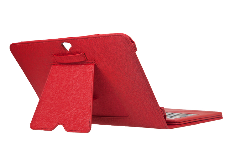 Seenda Leather with Detachable Bluetooth Wireless Keyboard for Google Nexus 10- with Integrated Stand on the Back Cover