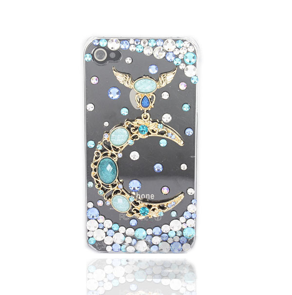 Crystal iPhone Case - Moon and Stars
