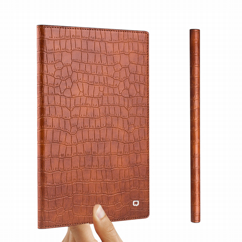 Imported high quality genuine leather protective cases for iPad Mini 4