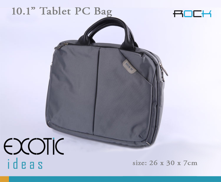 ROCK iPad 2 / The new iPad (iPad 3) / iPad4and PC Tablet  Sleeve Bags - Nylon jacquard with watertighting 210D lining, Anti-shock, Durable