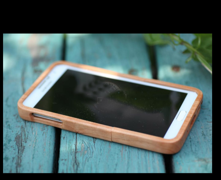 Solid Wooden Cases for Samsung Galaxy Note III (N9000)  Options: Rosewood, Cherry Wood, Walnut