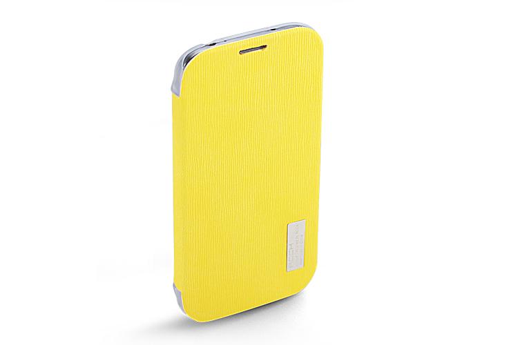 ROCK Samsung Galaxy S4 i9500 Phone Case Skin -Rock Design PU Leather + PU semi transparent back cover