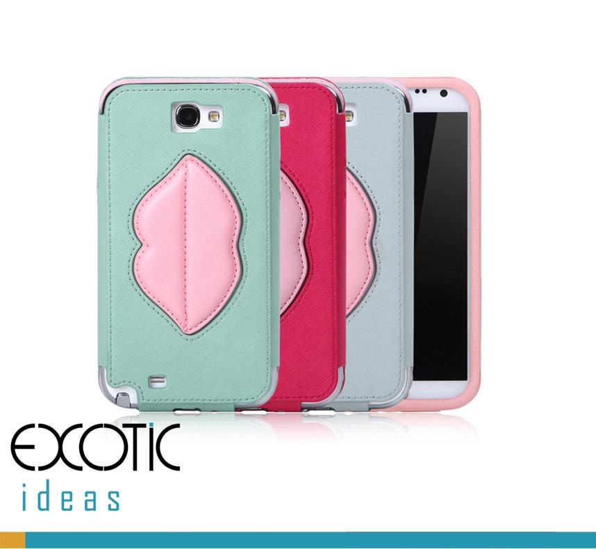 8thDays Monroe's Kisses Series- Samsung Galaxy Note II, N7100 Case Skin -  One Compact Case