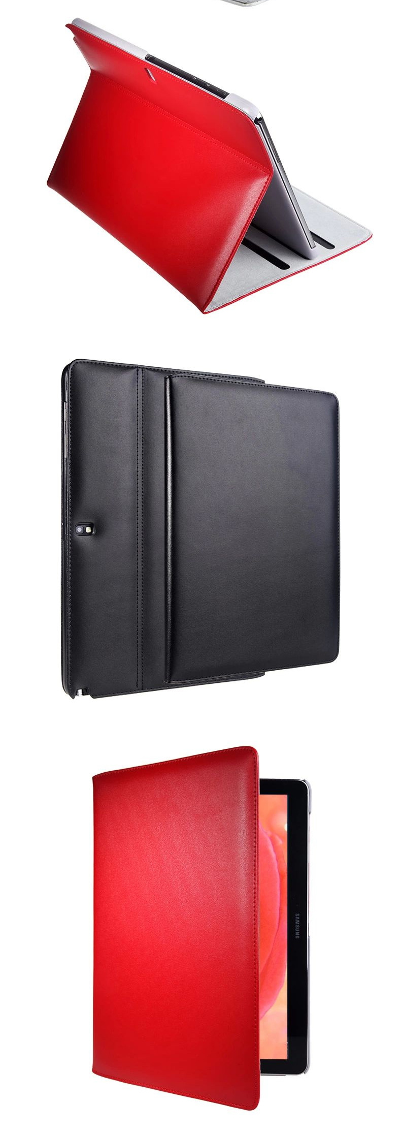 Samsung Galaxy Note Pro 12.2 P900 P905 Thin Slim Genuine Leather Sleeve Holsters