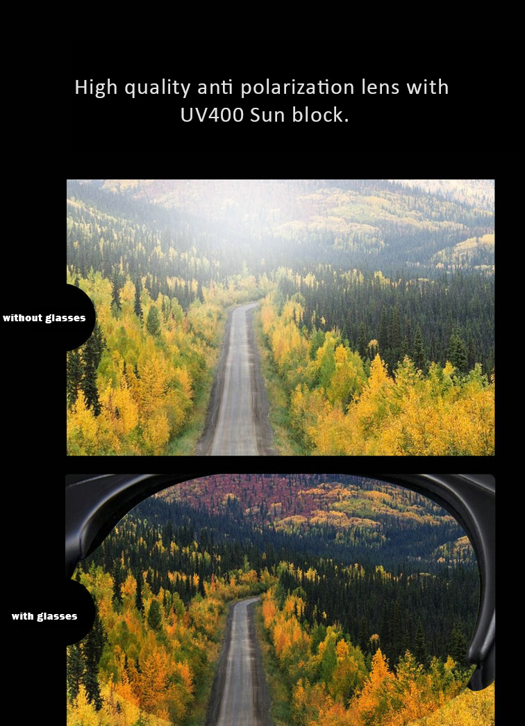 UV400 Polarized Video Sunglasses with Stereo Earplug for Driving and Outdoor Activities, Tachograph Camera Recorder, Bluetooth...etc. features